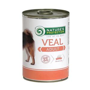 Natures Protection Adult cielęcina 400g dog