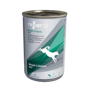 Trovet WRD pies 400 g Weight & Diabetic