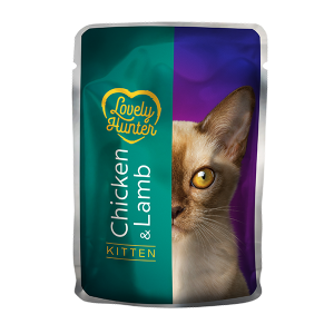 Lovely Hunter Kitten with chicken and lamb 85g