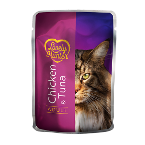 Lovely Hunter Adult Cat with tuna and chicken 85g