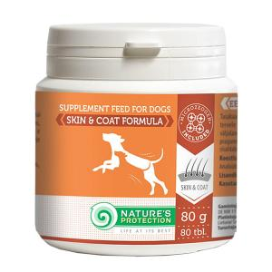 SUP Skin and Coat Supplements 80tabl, 80g dog