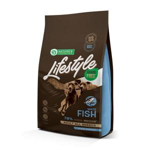 NP Lifestyle GF White Fish & Krill Adult All Breeds 1,5kg