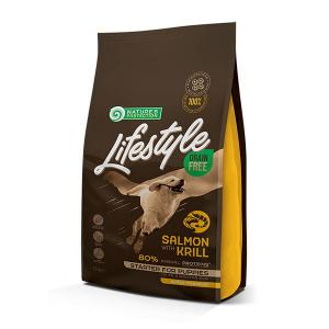 NP Lifestyle Grain Free Salmon with Krill Starter All Breeds 1,5kg dog