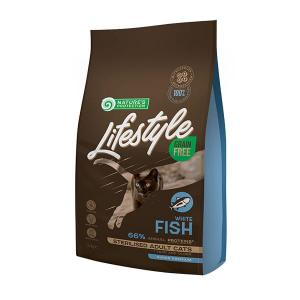 NP Lifestyle Grain Free White Fish Sterilised Adult Cat 1,5kg