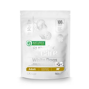 NP SC White Dogs Adult Small Breed with Lamb 0,4 kg
