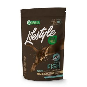 NP Lifestyle GF White Fish Adult Cat 400g