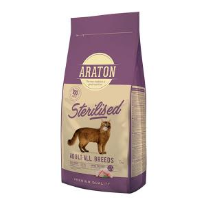 Araton Sterilised Poultry Cat Adult 15 kg