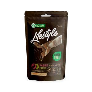 NP Lifestyle Snacks Rabbit Ears with Duck 75g dog 