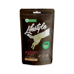 NP Lifestyle Snacks Dried Rabbit Ears 20g dog 