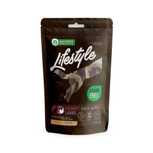 NP Lifestyle Snacks Rabbit Ears with Lamb 75g dog 