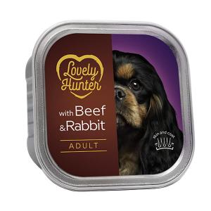 Lovely Hunter Dog Adult Beef & Rabbit 150g