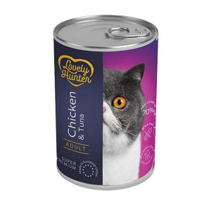 Lovely Hunter Chicken & Tuna Adult Cats 400g