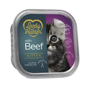 Lovely Hunter Kitten Beef 85g