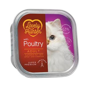 Lovely Hunter Adult Cat Poultry 85g