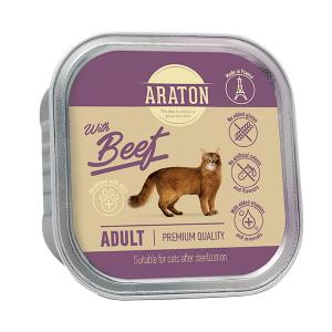 Araton Adult Cat After Sterilization Beef 85g