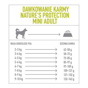 Natures Protection Mini Adult Poultry with Krill 2kg dog