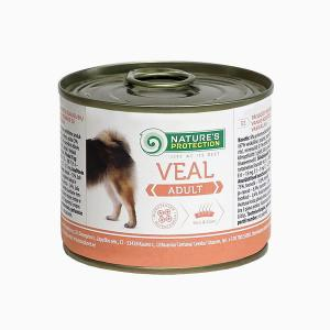 Natures Protection Adult cielęcina 200g dog