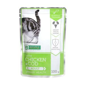 Nature's Protection Chicken & Cod Adult Urinary health 100g saszetka