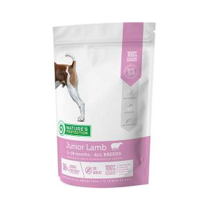 Nature's Protection Junior Lamb 500g dog